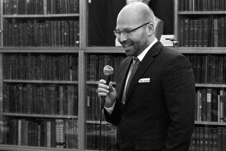 Steffen Kallbekken forteller om GreeNudge og takker for prisen.