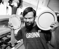 PÅDYTTER: Lars Giæver i Miljøpartiet De Grønne fikk kommunestyret i Lillehammer med seg. Foto: Silje Rindal / GD.