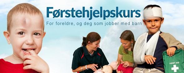 Førstehjelpskurs for foreldre og deg som jobber med barn