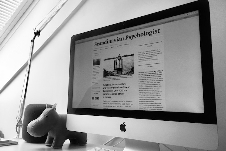 Fryser tidsskriftet Scandinavian Psychologist